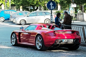 Porsche Carrera GT 2011 03 as graphic