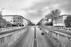blvd Pencho Slawejkow 2016 01 as hdr pencil
