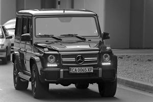 Mercedes G classe 2014 01 as bw