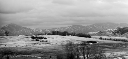 Rhodope panorama 2021.01a as bw